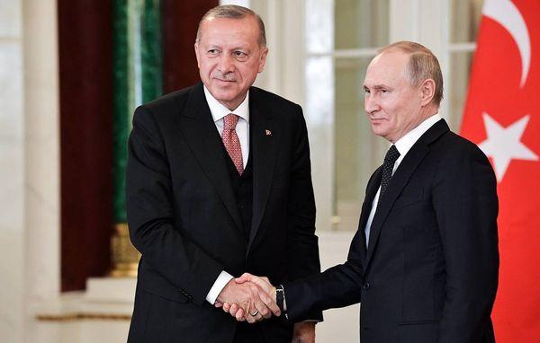 эрдоган и путин